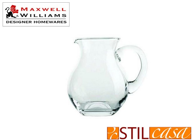 Caraffa svasata in vetro della Maxwell and Williams